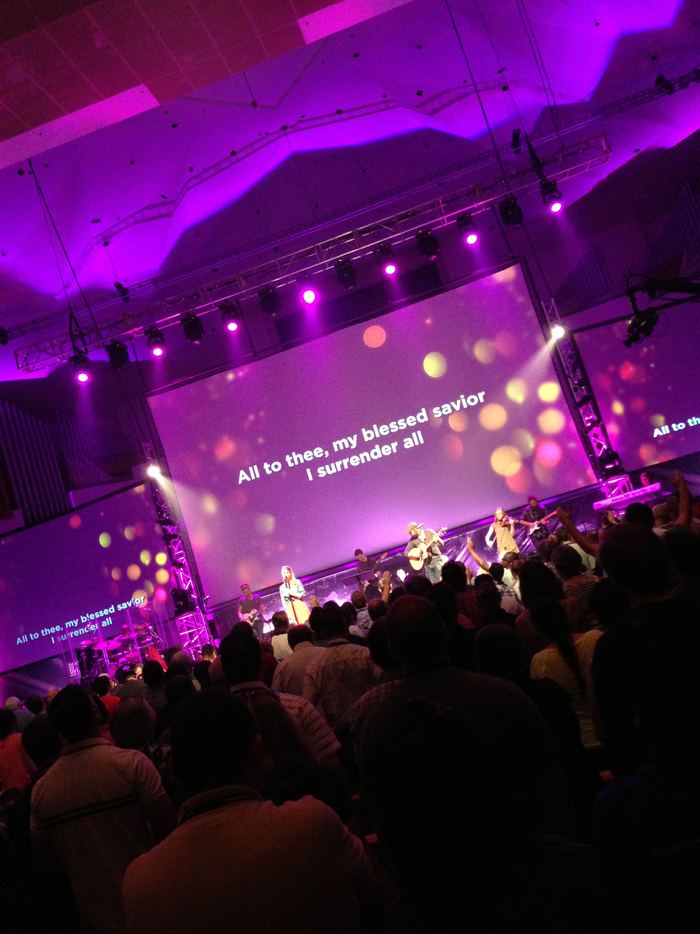 Music at Exponential Conference in Orlando, Florida