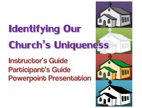 Identifying Our Church's Uniqueness Training Module