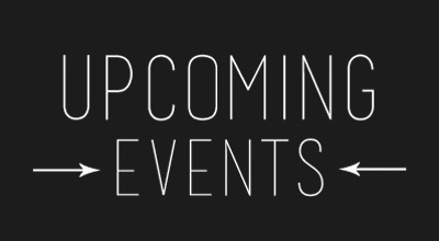 Upcoming Events with arrows